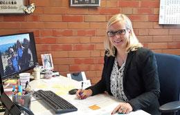 Christina Petersen in ihrem neuen Büro V.57