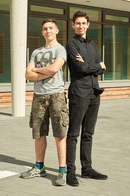 Taylor Hoare (links) und Massi Husen