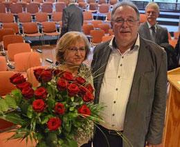 Mit seiner Lebensgefährtin Leo Lamers tritt Kunz nun in einen neuen Lebensabschnitt – Foto: JPH