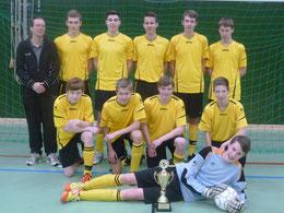 die JSG Gemeinde Hinte (B-Junioren), Sieger des Frühjahrsturniers 2014
