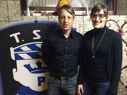 Benjamin Stark und Theresa Schmidt