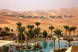 Wellness in der Wüste: Vereinigte Arabische Emirate. Quelle: GETTY IMAGES