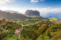 Zu Besuch in Ronaldos Heimat: Madeira. Quelle: GETTY IMAGES