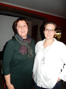 Vorstandsfrau Susanne Lemmermann und Referentin Nicole Löhden