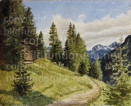Bei Clavadel am Höhenweg