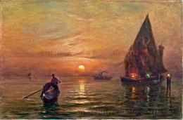 In den Lagunen von Venedig 1938