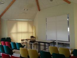 La salle de conférence de la Maison du Miel et des Abeilles du Val Dunois