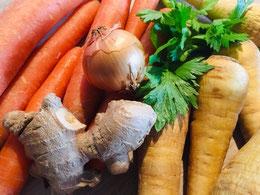 Kochen mit Gemüse