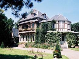 Le Clos Lupin, maison Maurice Leblanc, à Etretat