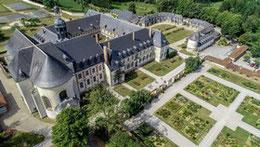 L'abbaye de Valloires, dans la Somme (80)