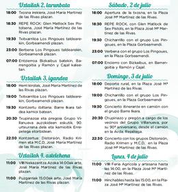Fiestas en Portugalete Fiestas de San Cristóbal