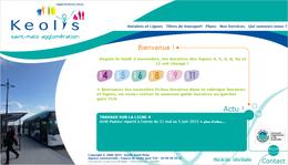 Le site internet, lancé en 2006 du réseau KSMA de Saint-Malo.