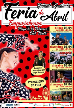 Volksfest in Empuriabrava - 4. bis 7.4.2019