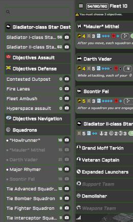 Die perfekte App: der Armada Fleets Designer