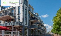 Te huur Luxe vakantie appartement voor 6 personen Penthouse) in Domburg Zeeland op 200 meter van het strand met wifi, honden toegestaan