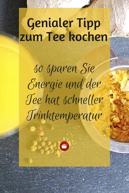 Tee kochen #lifehack #teekochen energiesparen #teeselbermachen