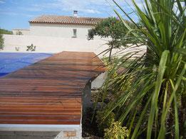 Terrasses Le Tour du Jardin Sommières Gard