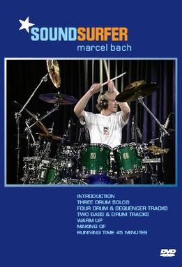 Marcel Bach - Soundsurfer / Soloschlagzeug DVD (2006). Mit dieser Veröffentlichung gewann Marcel den Deutschen Rock- und Pop Preis 2008