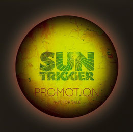 "Suntrigger promotional CD (2014). Songs from our forthcoming album ""interstellar"". please visit www.suntrigger.de"