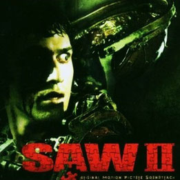 CD Sampler (2006) - Saw II Movie Soundtrack mit u.a. Marilyn Manson, Papa Roach, Queens of the Stoneage / Drums für Samsas Traum