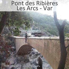Restauration des pierres du Pont des Ribières aux Arcs - Tout en Pierre - Var