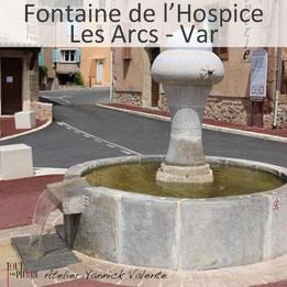 Restauration de la Fontaine en pierre de l'Hospice aux Arcs - Tout en Pierre - Var