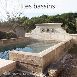 Les bassins en pierre - Tout en Pierre - Yannick Valente - Var