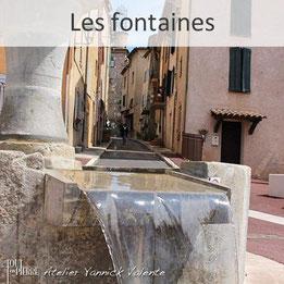 Les fontaines en pierre - Tout en Pierre - Yannick Valente - Var