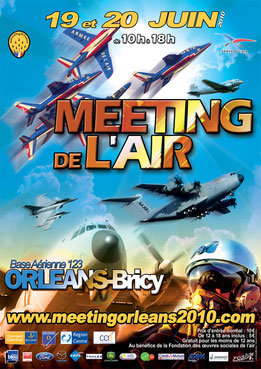 Meeting Aeriens Orleans 2010  spotter domi00 F-16 A-400M