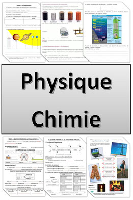 "Intercalaire ""physique-chimie"""
