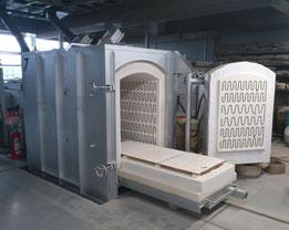台車式電気炉TY-50S