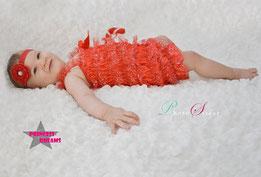 Baby Neuborn Fotografie Requisiten,Baby Kostüm,Neugeborenen Mädchen Bowknot Ballettrock Pettiskirt Tüll Stirnband Outfits Babykleidung