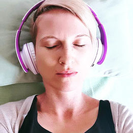 Neuromusik über Kopfhörer