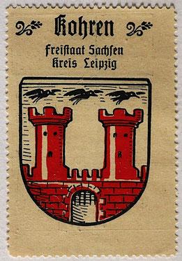 Reklamemarke Töpferstadt  Kohren