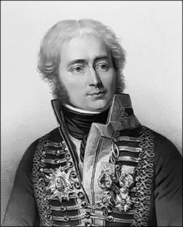 Général Fouchet du Careil, commandant l'artillerie du 6ème corps de la Grande Armée
