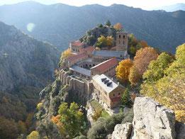 Départ de Casteil : 3 km de Vernet les Bains