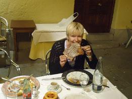 Барселона, мясо, рестораны