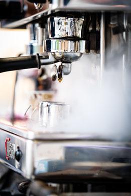 Mobiler Kaffeestand