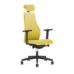 Bürostuhl Bürodrehstuhl Nowystyl Viden HB UPH Polster AirCare Luftpolster + Kopf-Nackenstütze