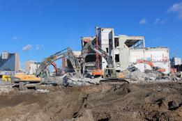 Projektlage: Berlin - Neukölln / Treptow Rückbau- und Entsorgungsplanung; Bauüberwachung / Entsorgungsmanagement / Abfallbeauftragter; Koordinaten gem. BGR 128 / TRGS 524; Projektsteuerung