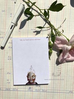 Buddha Notizblock DIN A6