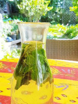 Plastik sparen, Plastik vermeiden, Infused-Water, Eistee selber machen, Limonade selber machen