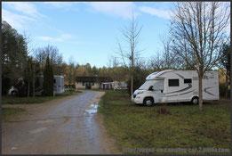 Camping le chêne à Pruniers en Sologne