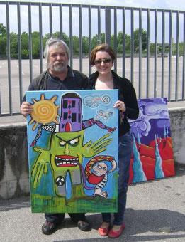 Zago con Carla Battisti(Carletta) 2011