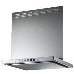 フィルタレス、LED照明のベーシックフード「LGR」。コンロ連動にも対応します。