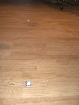 Akzent: Fußbodenlampen