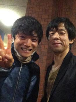 ゆしん(写真左)とHeyzo(写真右)