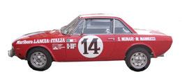 vettura da rally 1973 lancia fulvia coupé montecarlo grafica completa da pubblimais a torino