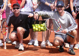 Tennisschule WN: Frank Nolte und Michael Weber