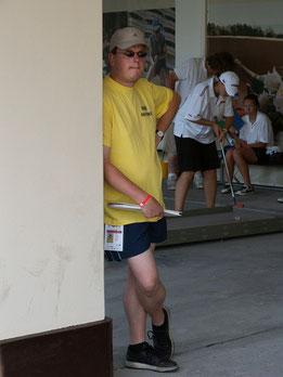 Christian Somnitz bei der Jugend-WM im russischen Sotschi als Referee im Einsatz